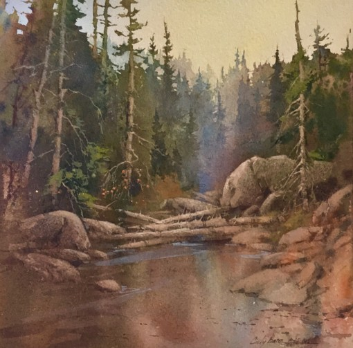 Cindy Baron watercolor painting