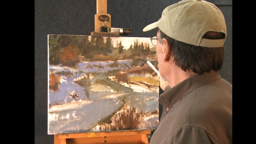 Howard Friedland oil painting landscapes
