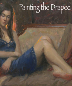 Bryce Liston oil painting the draped figure