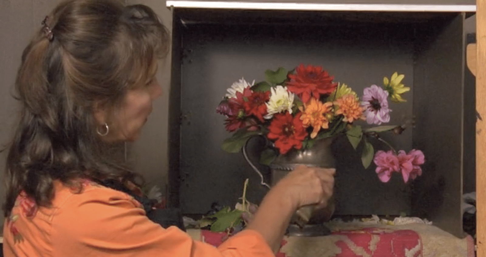 Painting Dahlias And Silver Video