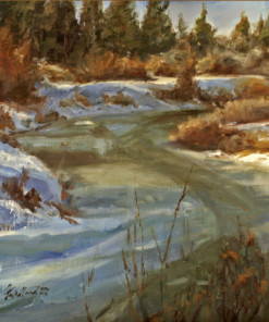Howard Friedland landscape painting