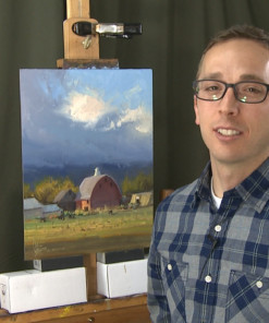 Josh Clare paints the rural landscape