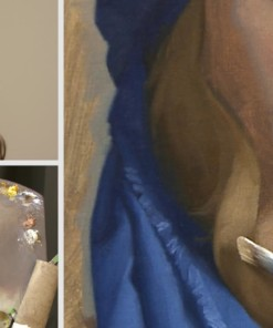 David Gray painting the classical portrait